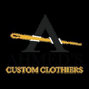 Ahmed's Custom Clothiers logo designed by Pegasus Online